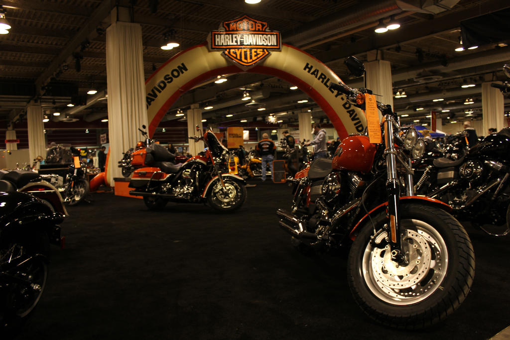 harley davidson motor cycles by kyleandtheclassics on