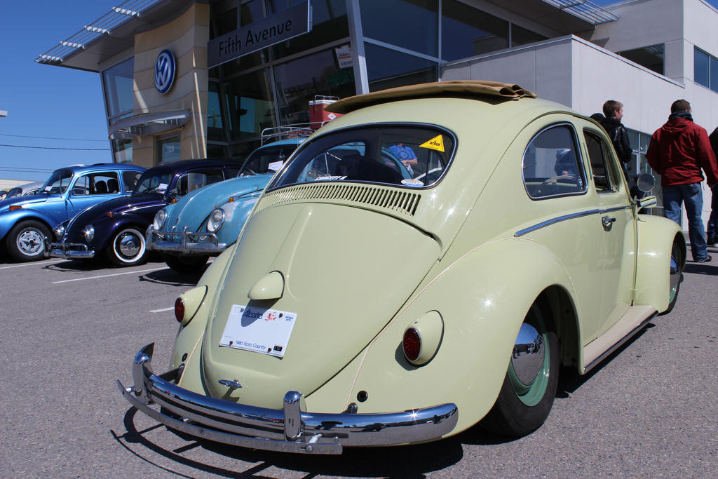 Right-Hand Drive Beetle by KyleAndTheClassics