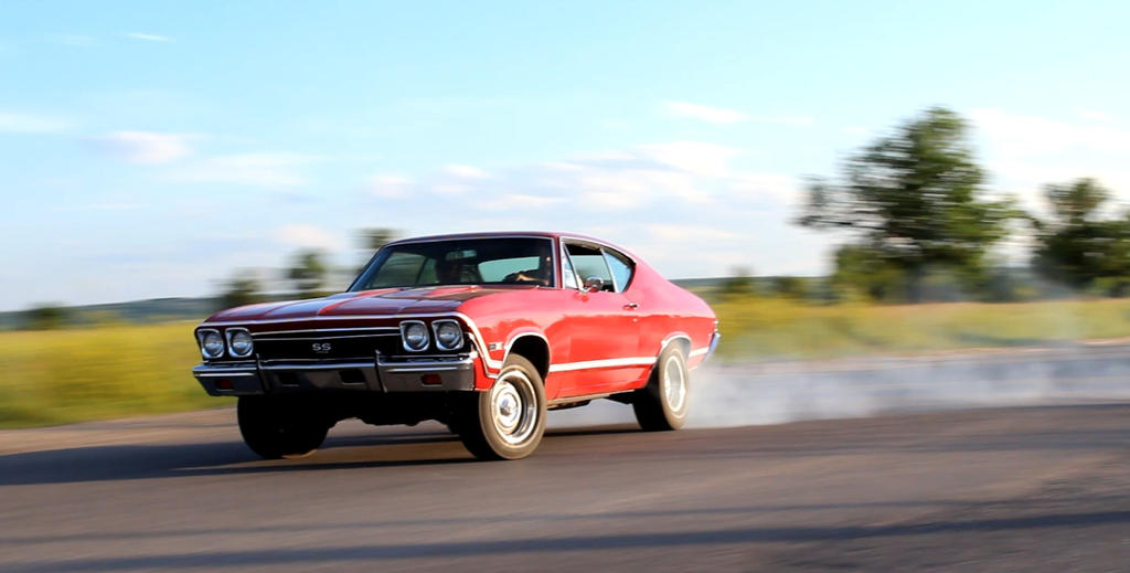 Chevelle Drift by KyleAndTheClassics