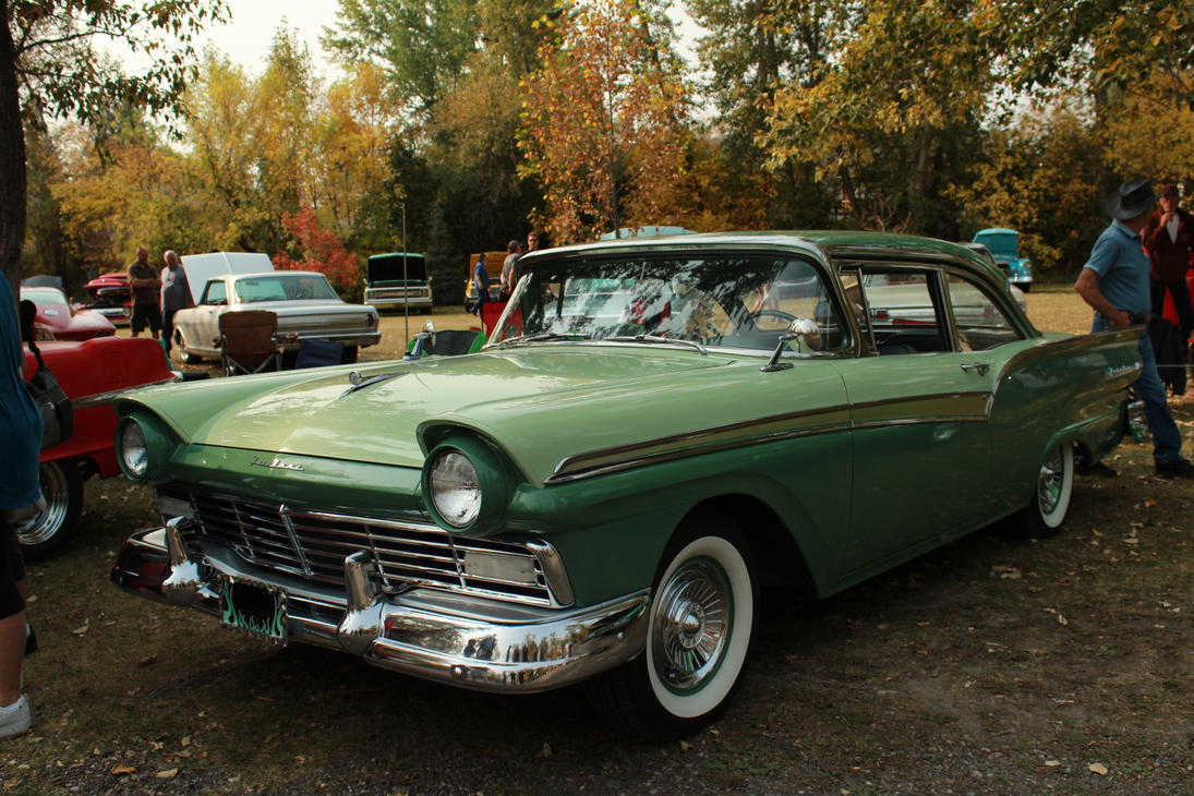 Green On Green Fairlane by KyleAndTheClassics