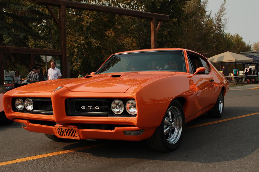 Orange GTO... by KyleAndTheClassics