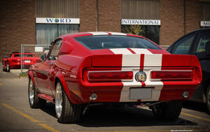 Eleanor's Red With Anger (Rear) by KyleAndTheClassics