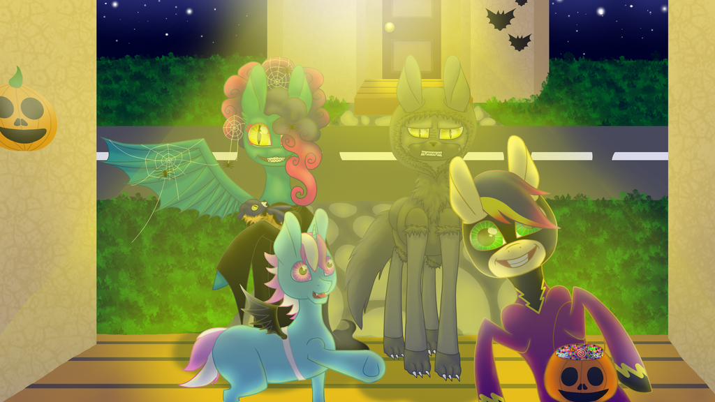 Happy Nightmare Night 2016 ! [Speedpaint] by AmbreaTaddy