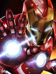 Iron Man by Jerry-SBK