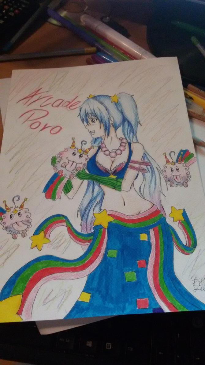 Arcade Sona and Poros *^* by Mitukii