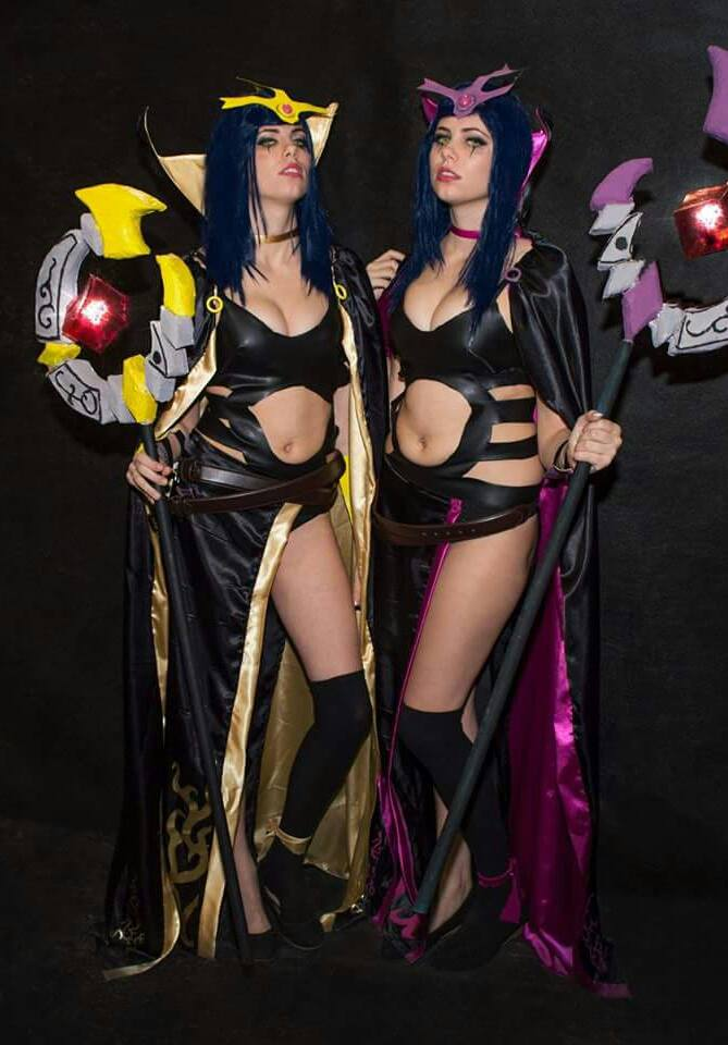 LeBlanc cosplay by Mitukii