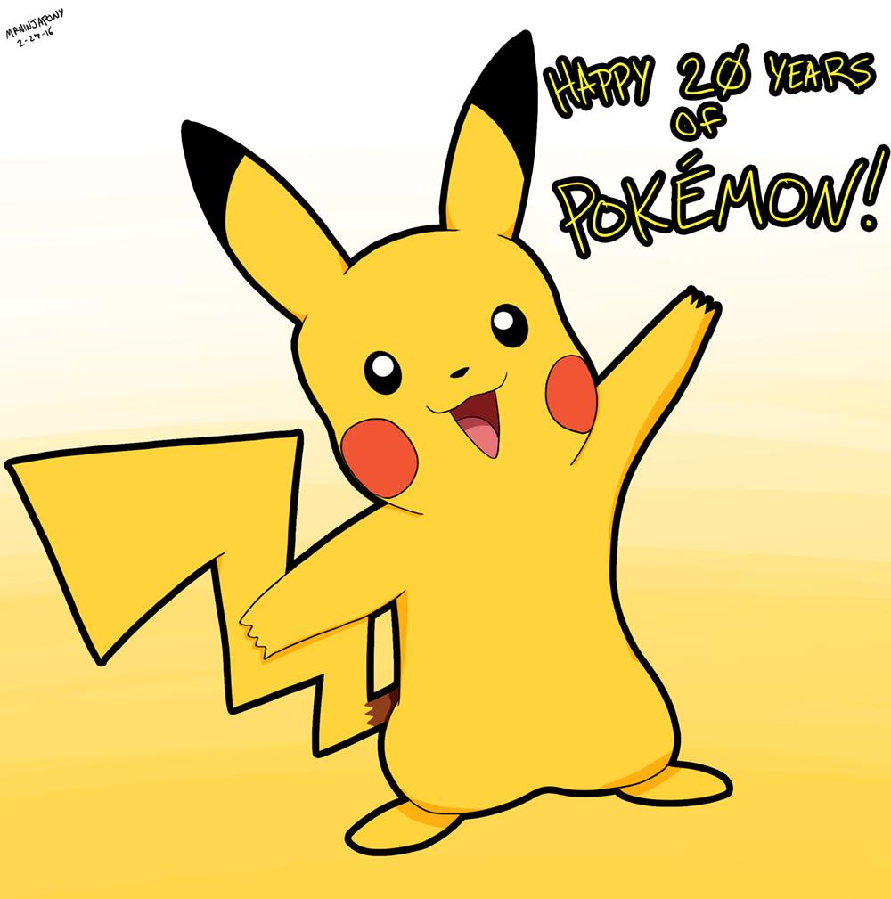 Pokemon 20th by lookup4napkins
