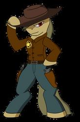 Cowboy pony by lookup4napkins