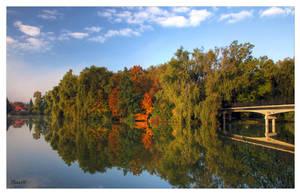 Autumn Bridge by Thaash