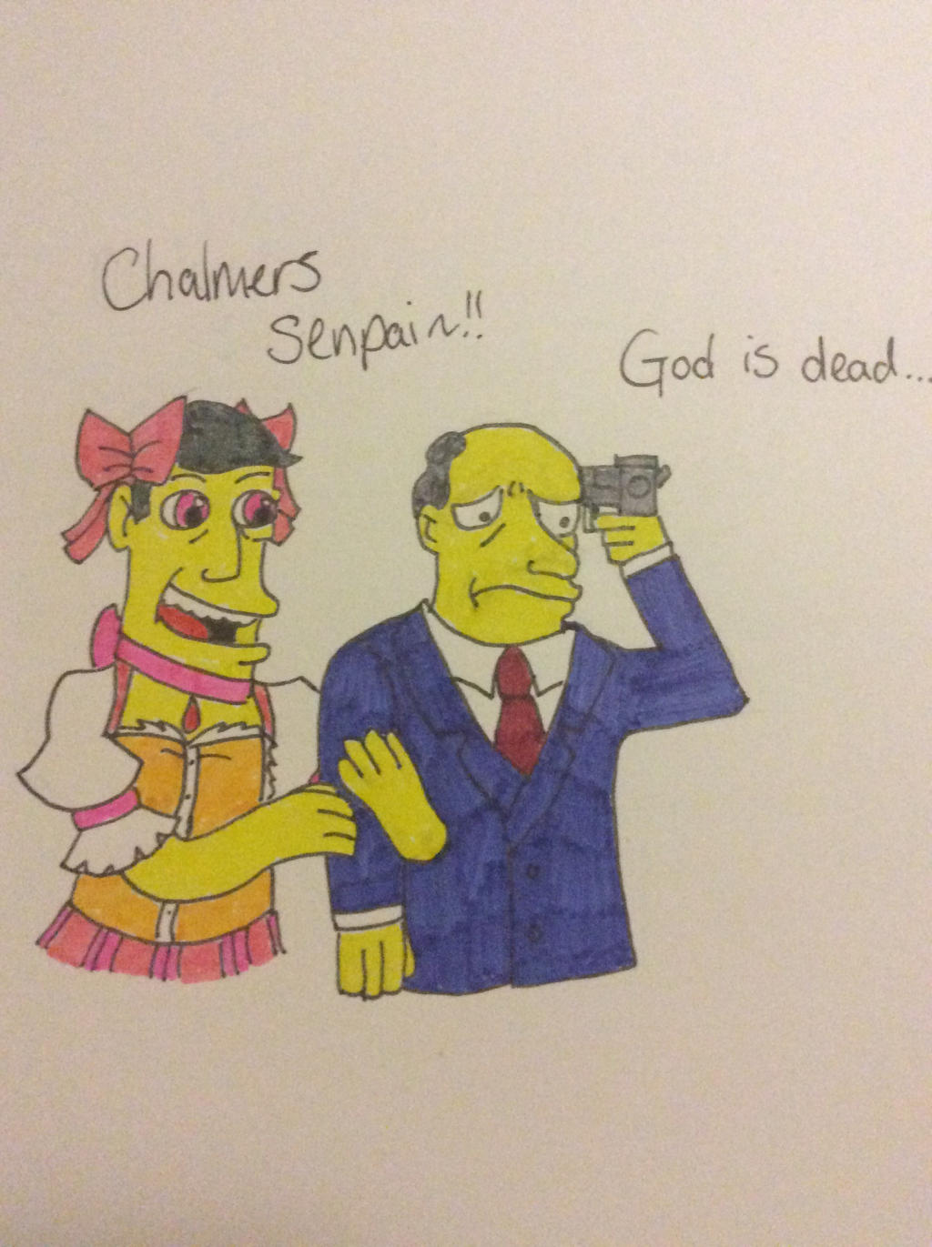 Magical Girl Skinner And His Senpai By Gothbloodnightmare On Deviantart