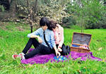 Ereri Romantic Picnic 4 (Hanami)