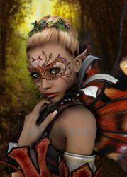 Flutterbies little Sister by Surama
