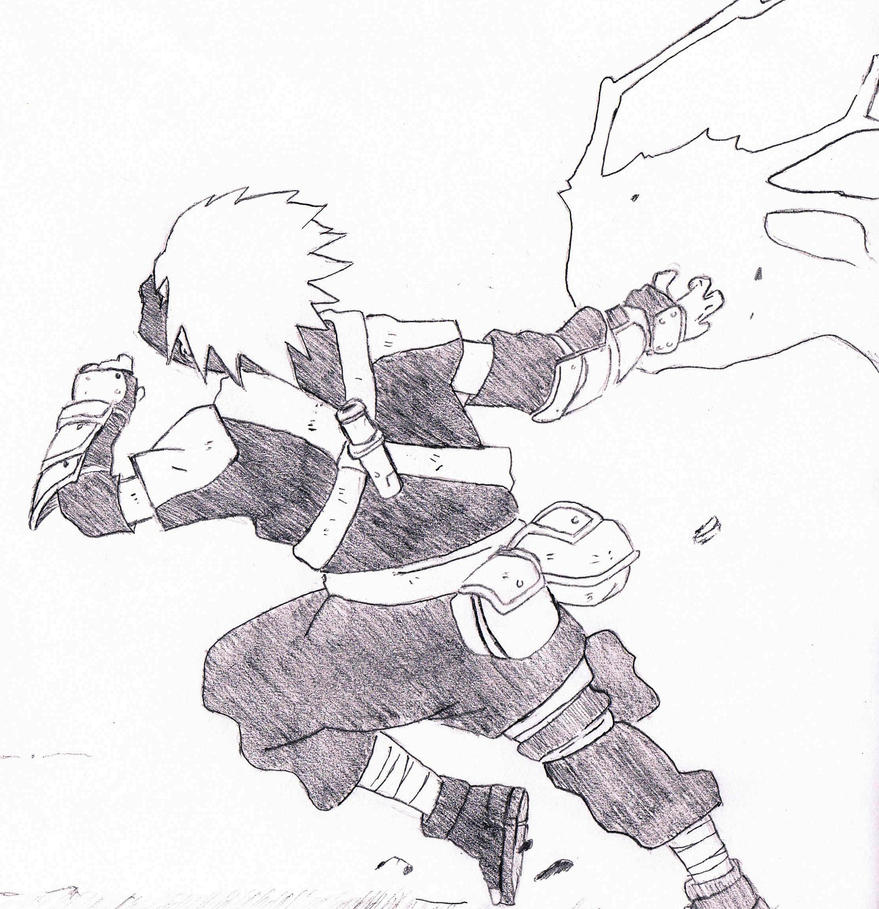 Kakashi Sketch by Mochimii on DeviantArt