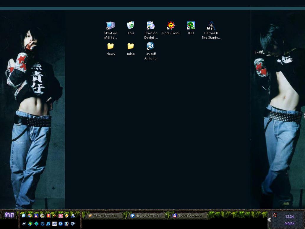 My desktop by Cute-elf