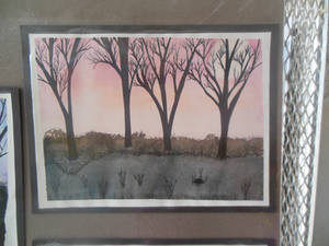 Water Color Trees
