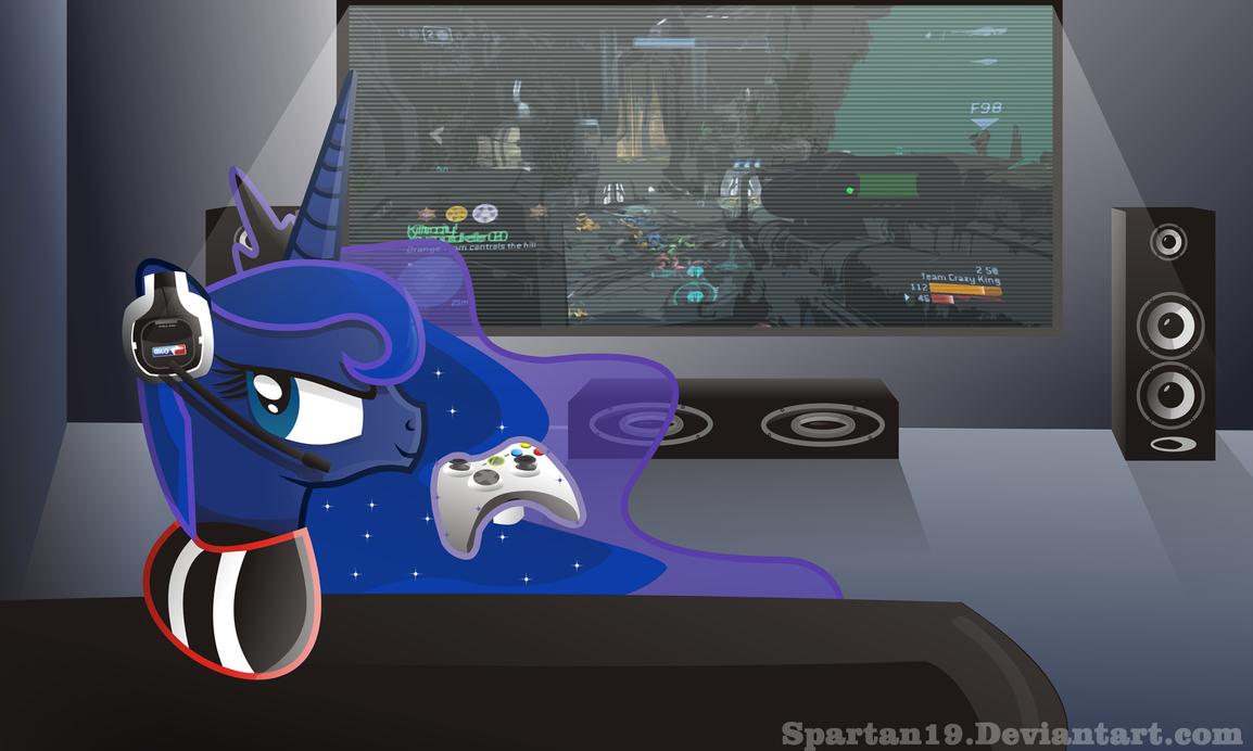 Luna vs the world by Spartan19