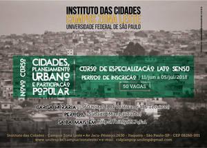 Curso Cidades e Planejamento Urbano UNIFESP