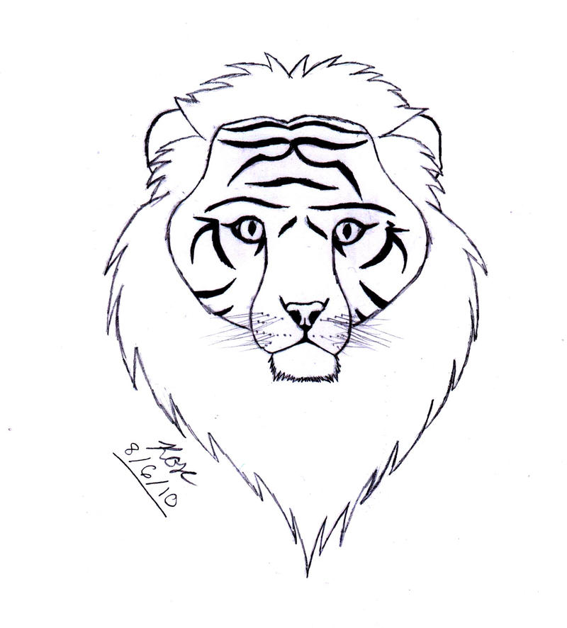 liger coloring pages - photo #8