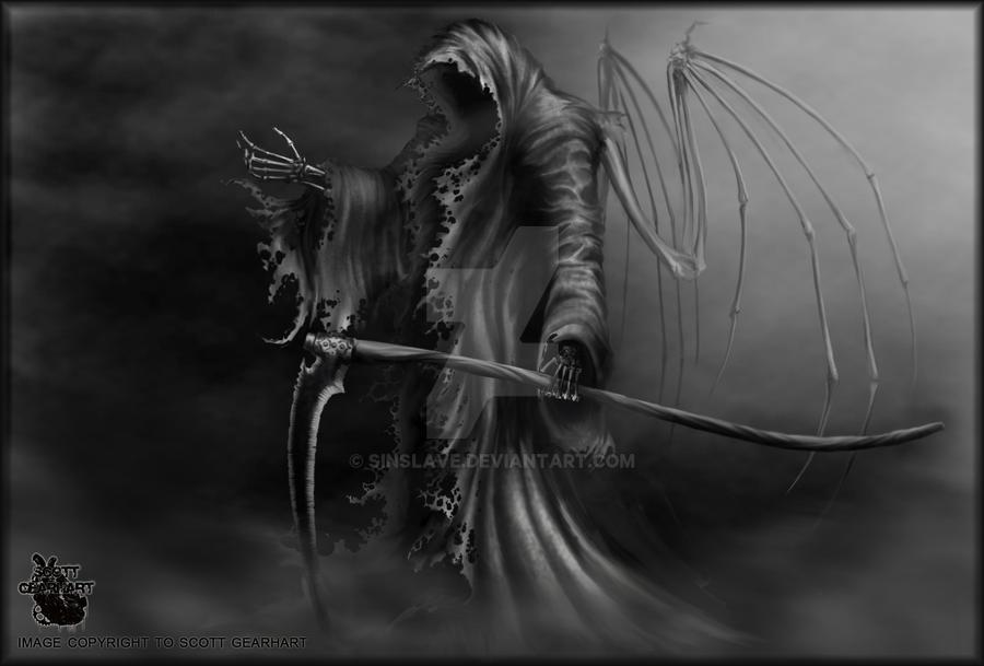 angel of death aka grim reaper by sinslave on deviantart