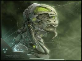Mechanical Alien dude...