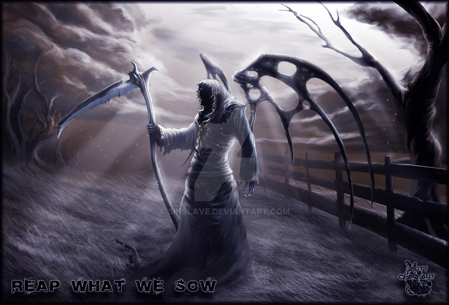 Reap what we sow.. by sinslave
