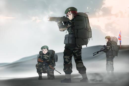 Falkland War by Xinom