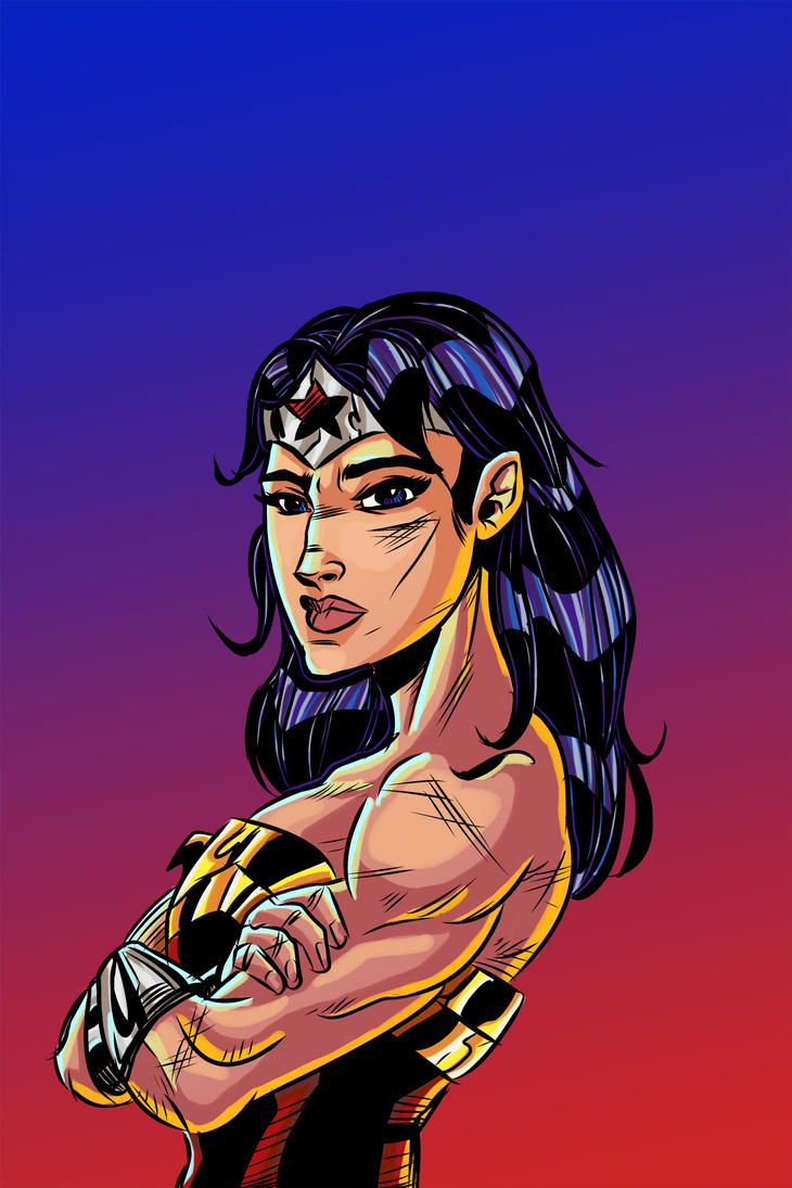 Wonder Woman Colors - No Logo by ffnb