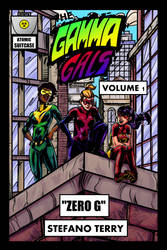 The Gamma Gals Volume 1 Cover - Colors