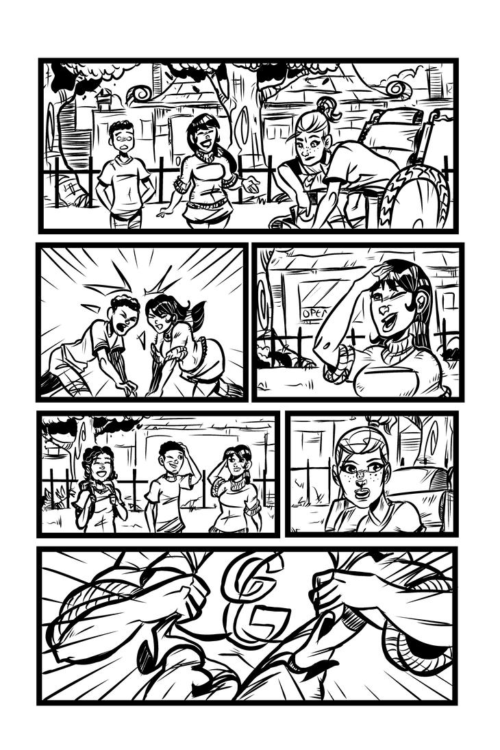 Sneak Peek: The Gamma Gals #1, Page 4 by ffnb