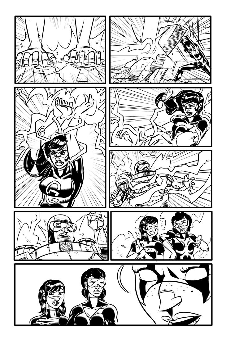 Sneak Peek - The Gamma Gals #2, Page 8 by ffnb