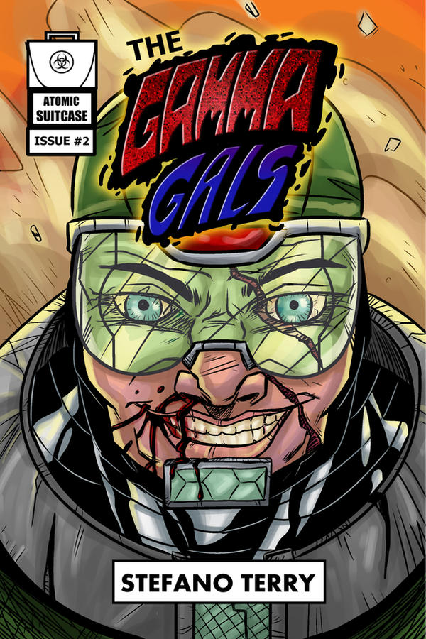 The Gamma Gals #2 - Cover by ffnb