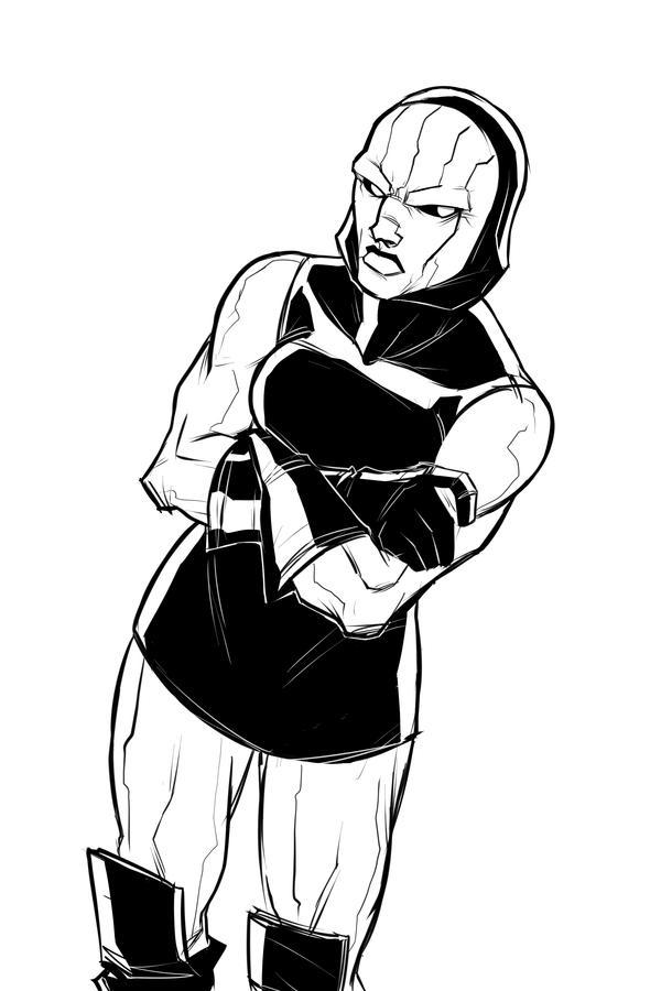 Swaptober: Darkseid by ffnb