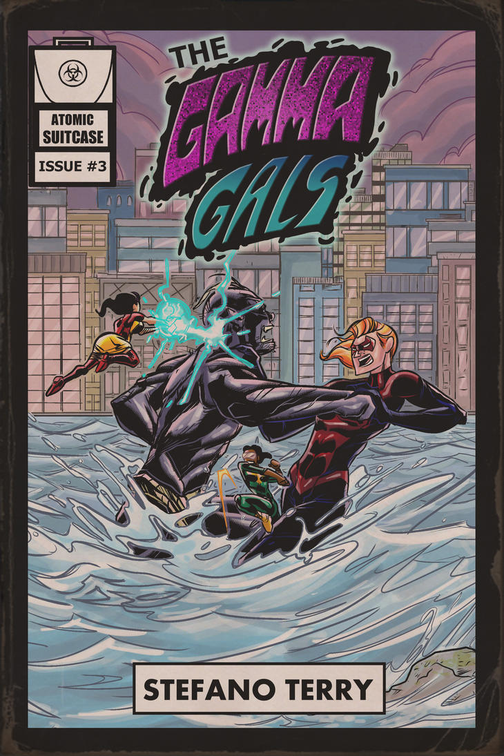 The Gamma Gals #3 Cover - Aged by ffnb