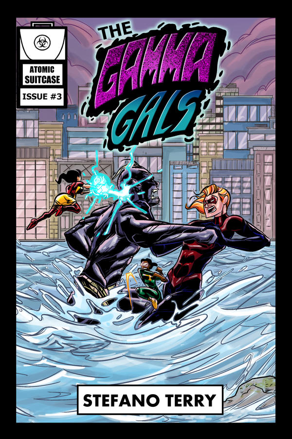 The Gamma Gals #3 Cover - Clean by ffnb