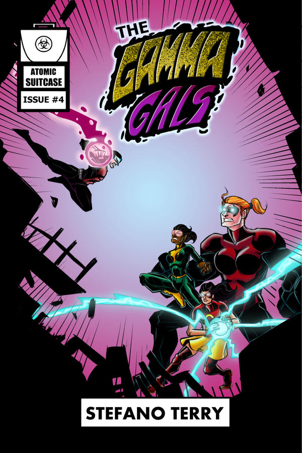 The Gamma Gals #4 Cover by ffnb