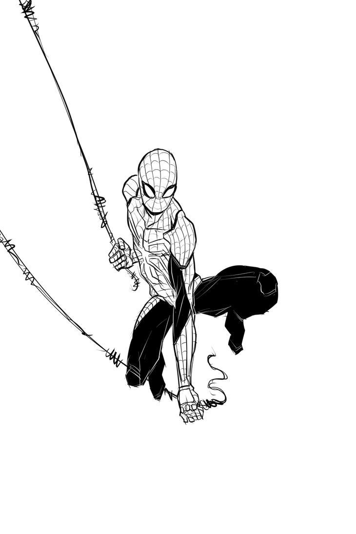 wip spider man insomniac games by ffnb on deviantart