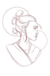 Star Wars: Rey - Rey Sketch