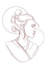 Star Wars: Rey - Rey Sketch