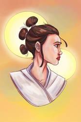 Star Wars: Rey - Rey Sketch - Final Colors