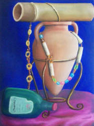 Still life soft pastel 1 by beejay-artlife12