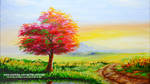 Autumn Tree during Sunrise by beejay-artlife12