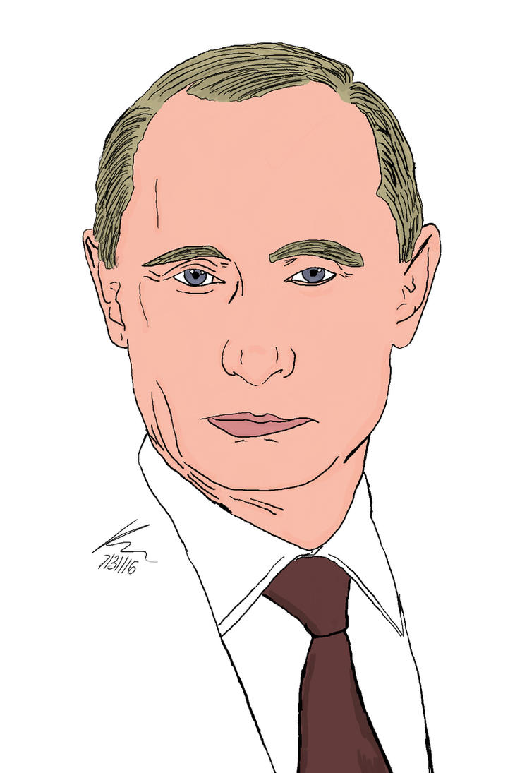 Vladimir Putin by kasaundra1