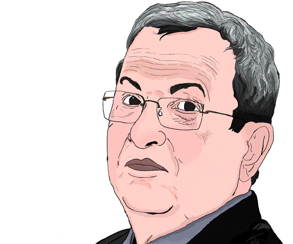 Ehud Barak by kasaundra1