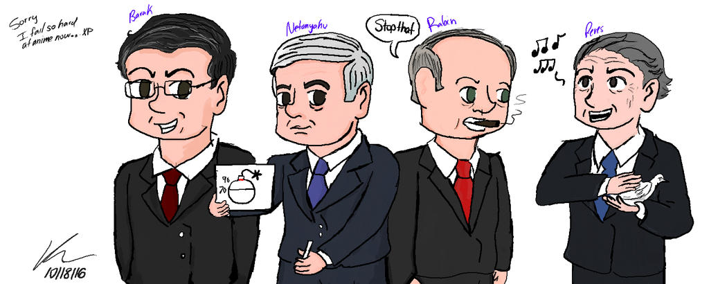 Horrible attempt at Chibi Prime Ministers by kasaundra1
