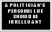 Policies trump Personal Life by ThePhilosophicalJew