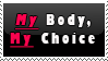 Pro Choice Stamp by ThePhilosophicalJew