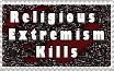 Religious Extremism kills by ThePhilosophicalJew