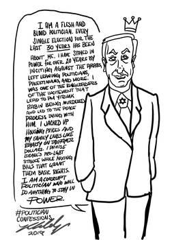 Politician Confessions King Bibi