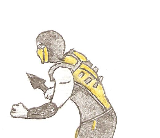 First attempt to draw scorpion by m0rt4lk0mb4t