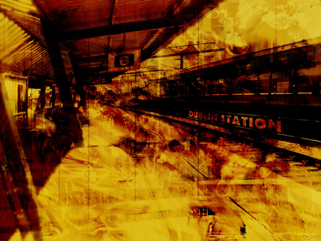 Dublin Station by Loveyless